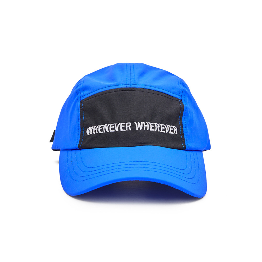 BSRABBIT WEWE 5PANEL CAMP CAP BLUE